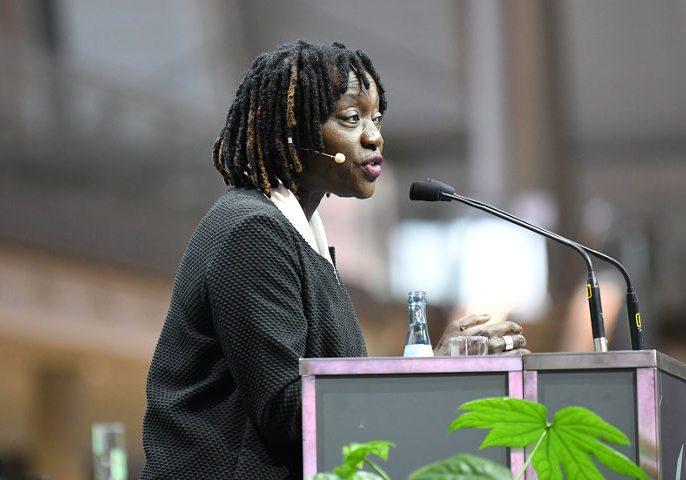 Dr. Auma Obama, Gründerin und Unternehmerin der Sauti Kuu Foundation. (Foto: Ministerium für Wirtschaft, Arbeit und Wohnungsbau Baden-Württemberg)